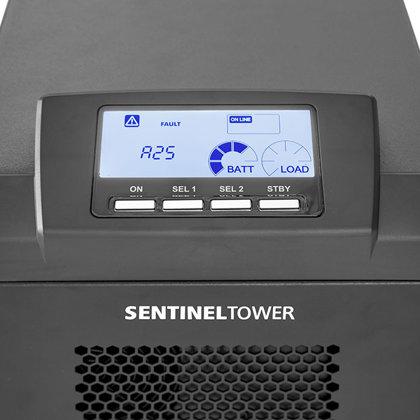 Nepetraukiamo maitinimo šaltinis. Riello UPS Sentinel Tower serija.